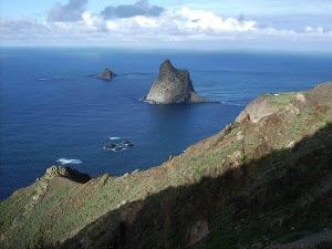 Anaga Mountains in Tenerife