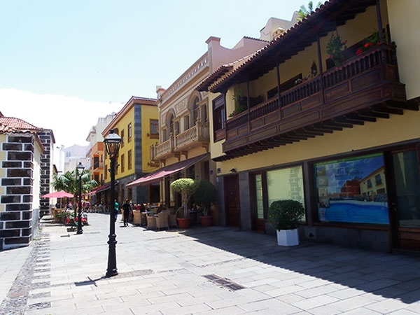 Town of Puerto de la Cruz