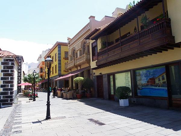 Town of Puerto de la Cruz