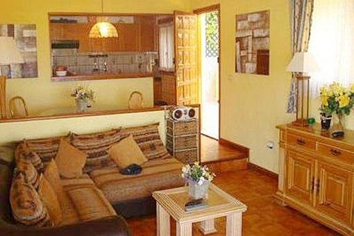 Villa San Eugenio - Villa In San Eugenio Alto With Spacious ... Offene Kuche Esszimmer Wohnzimmer