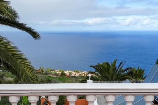 Impressive open sea views