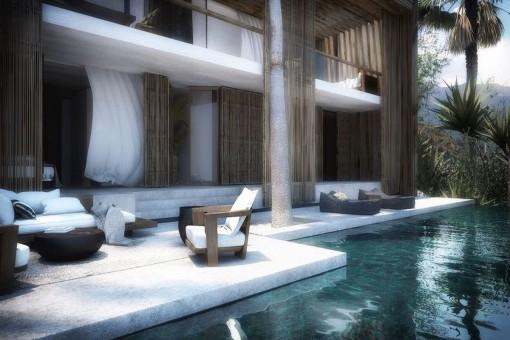 Elegant new built villa in Torviscas