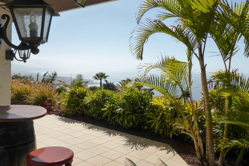 Well-kept villa with sea and mountain views in Santa Ursula