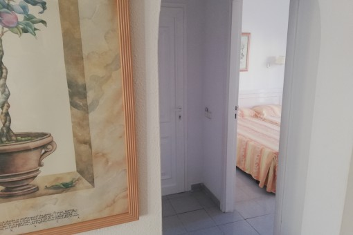 Access to the bedroom