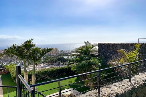 Idyllic views from the villa