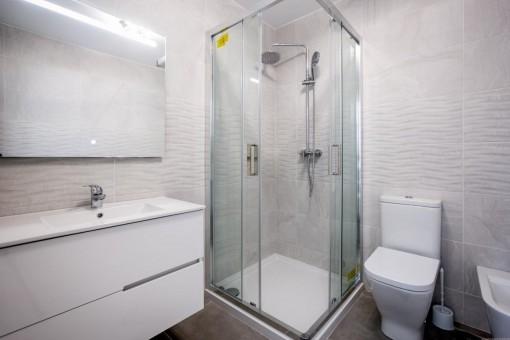 Bathroom of the villa