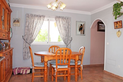 Dining area of the house