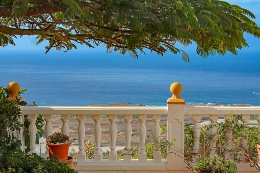 Sea view off the balcony