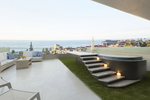 Project of newly-designed penthouses in the centre of Puerto de la Cruz