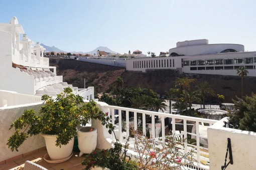 Alternative view of the balcony