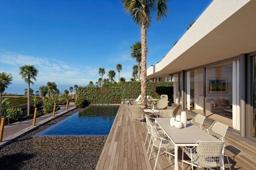 Villas del Tenis - Large luxury villas directly on the golf course in Tenerife