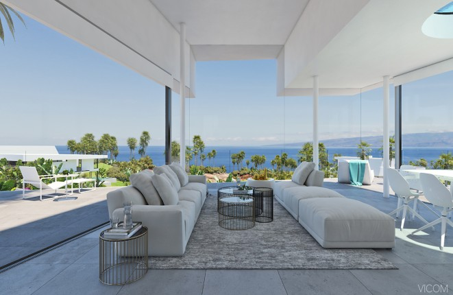 Detached new built villa in the Abama Resort on Tenerife