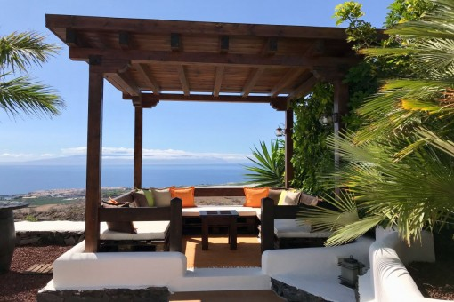 Chill out area with a view