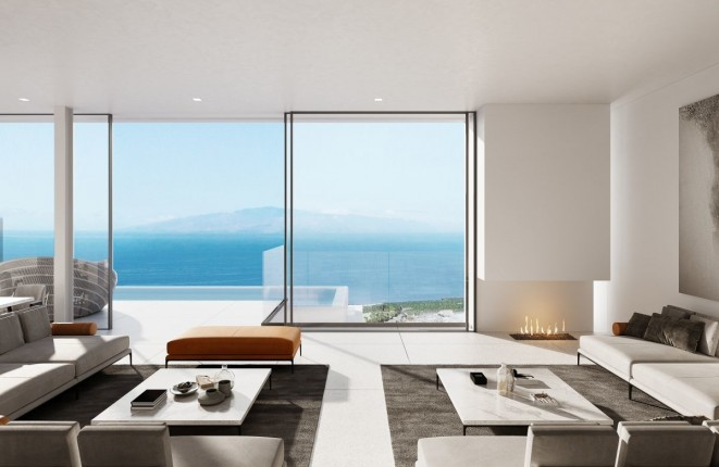 Modern designer villa with panoramic views at the Abama Golf Course