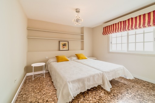 One of 6 bedrooms