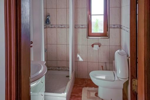 Second natural-light bathroom