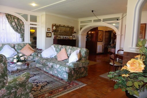 The large living room at the garden