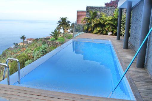 elegant villa in unique location in la mancha with pool, garden, Garten und Bauen