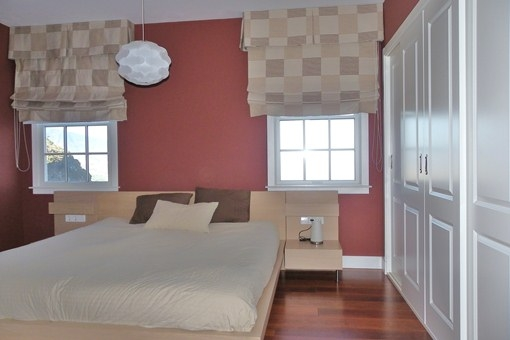 Bedroom with fitted wardrobe in first sea line