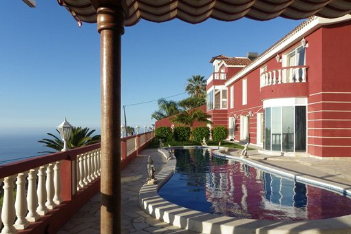 Prestigious villa on the Orotava Valley with 5 bedrooms and Humboldt sea view