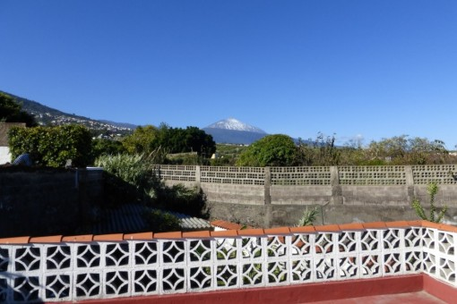 Even the Teide always in view