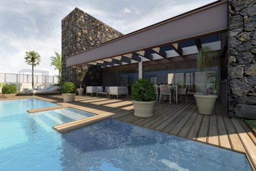 Exclusives villa project with sea view in Tacoronte