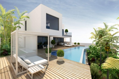 High Quality Villa Project With A Beautiful Panoramic View