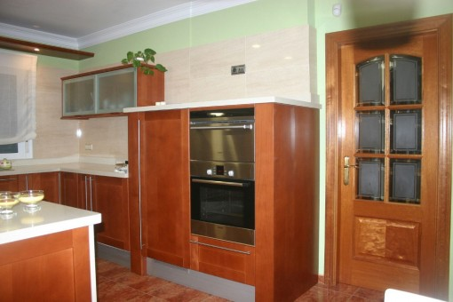 High quality kitchen appliances with a pleasant working height