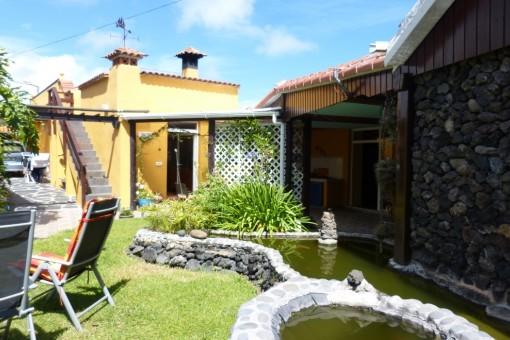 Beautiful villa in Canarian Still in El Tanque