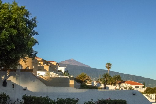 Unobstacled view to the Teide