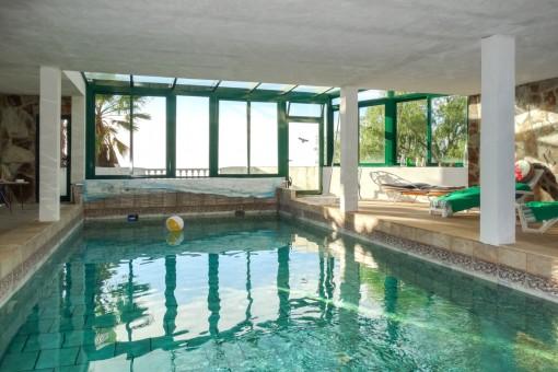 Fantastic indoor pool