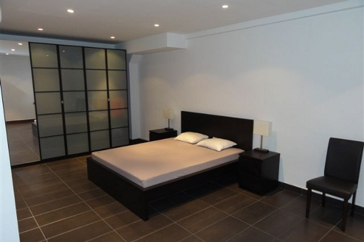 One of the bedrooms with large closet