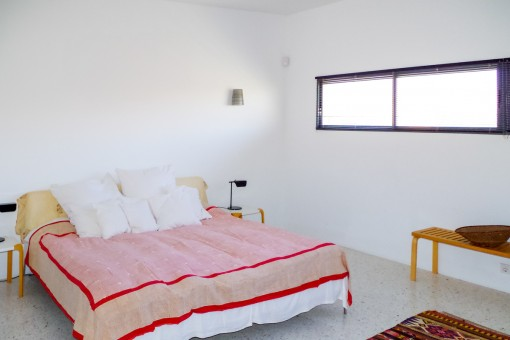 Second bright bedroom with double bed