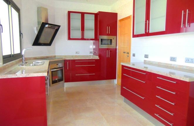 Large and stylish kitchen