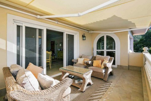 Wonderful terrace with sitting facilities