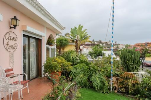 Fantastic garden and terrace