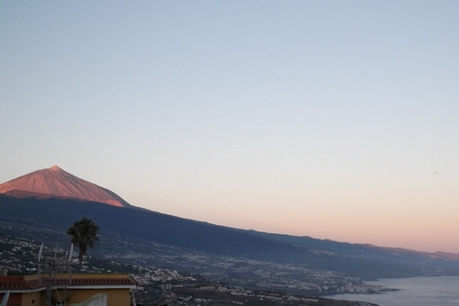 The impressive views of Mount Teide and the Atlantic