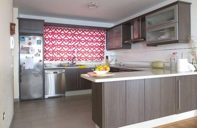 Modern kitchen with plenty of space