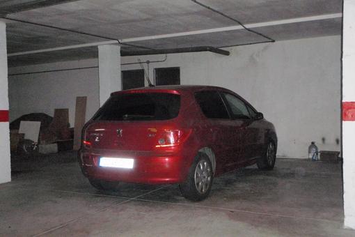 Two parking spaces in underground garage