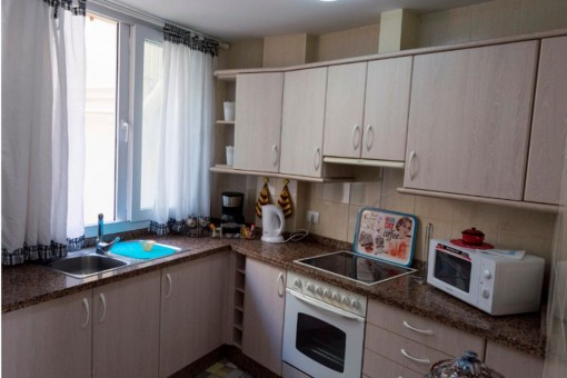 Fully eqipped kitchen