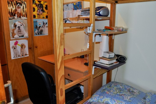 Another room with loft bed