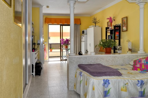 Nice studio with terrace in the centre of Puerto de la Cruz in a well maintained complex