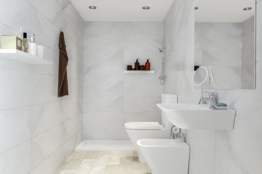 High-quality bathroom