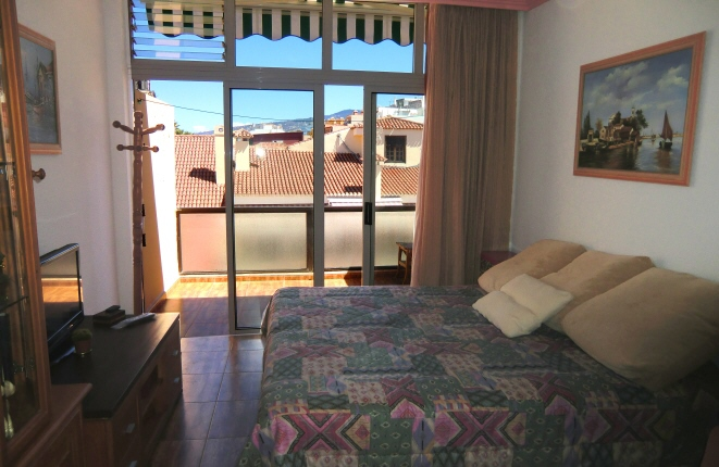 Modern, maintained and bright studio in the heart of Puerto de la Cruz