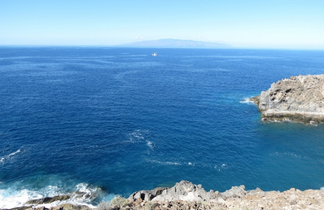 The natural and wild south-west coast of Tenerife