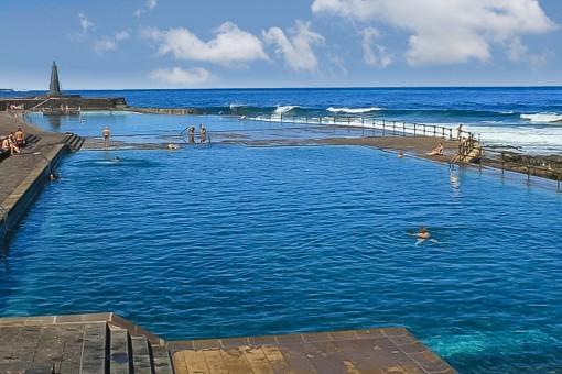 Impressive natural pool