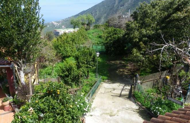 Large garden and private parking spaces