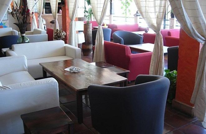 Lounge of the restaurant Escondida